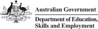 Department of Education, Skills and Employment logo